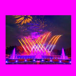 Sleeping Beauty - Fireworks & Fountains Show