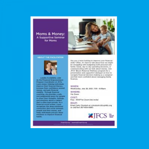 JFCS - Moms & Money: A Supportive Seminar for ...