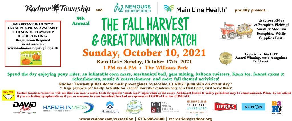 Fall Harvest & Great Pumpkin Festival