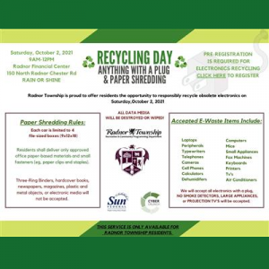 Electronics Recycling & Paper Shredding - Radn...