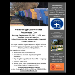 Valley Forge Gun Violence Awareness Day