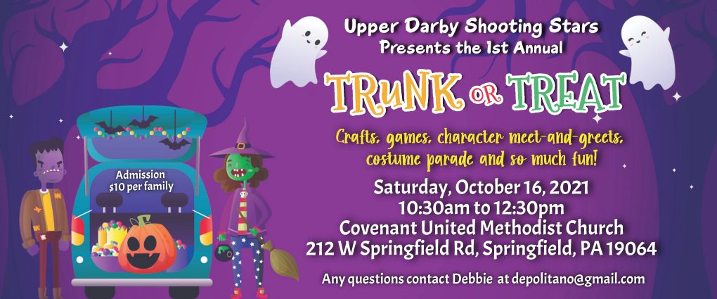 Upper Darby Shooting Stars Trunk or Treat