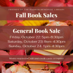 Friends of RML General Book Sale