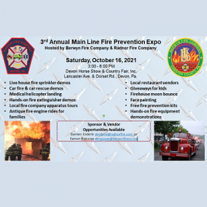 3rd Annual Main Line Fire Prevention Expo