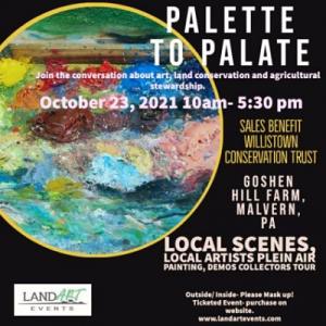 Palette to Palate~ A Celebration of Plein Art Art ...